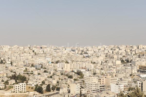 Foto stock: Síria · céu · edifício · cidade · rua · urbano