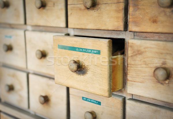 drawer  Stock photo © zurijeta