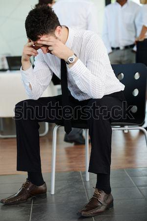 Stressed businessman Stock photo © zurijeta