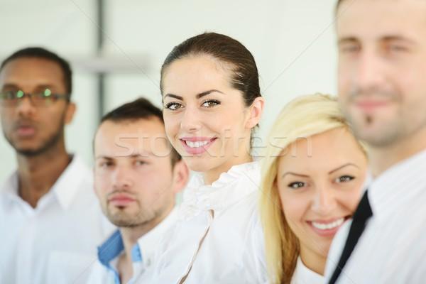 Bem sucedido pessoas de negócios negócio trabalhar fundo amigos Foto stock © zurijeta