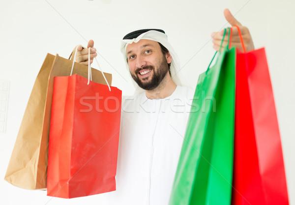 モール 買い物客 ビジネス 笑顔 ビジネスマン ストックフォト © zurijeta