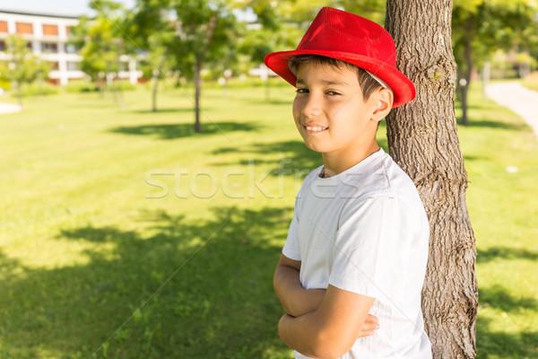Najlepszy wakacje szczęśliwy dzieci Zdjęcia stock © zurijeta