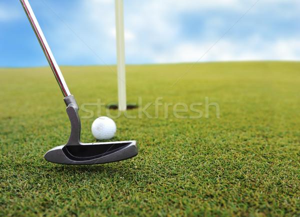 Playing golf Stock photo © zurijeta