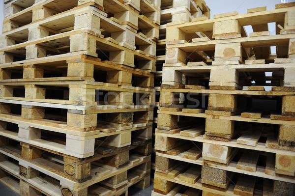 Wooden palette Stock photo © zurijeta