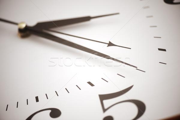 Clock closeup Stock photo © zurijeta
