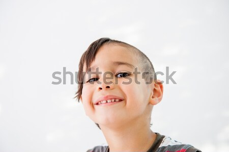 Portrait innocent Kid cute sourire heureux Photo stock © zurijeta