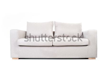 Couch isolated on white Stock photo © zurijeta