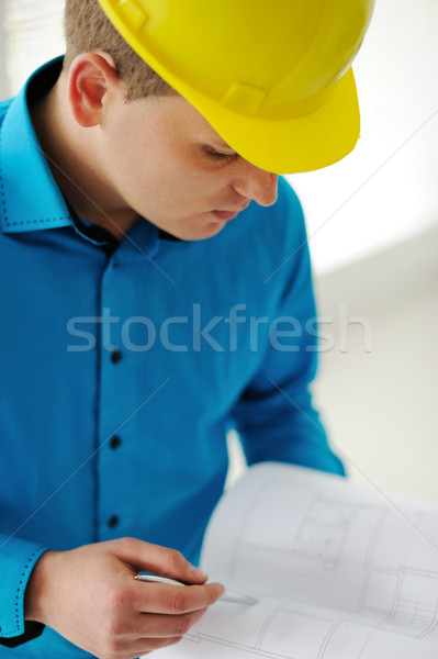 Closeup of a foreman Stock photo © zurijeta