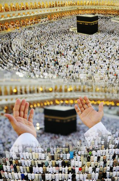 Mecca pregare dio maschio idea Foto d'archivio © zurijeta