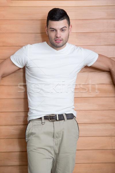Casually dressed model Stock photo © zurijeta