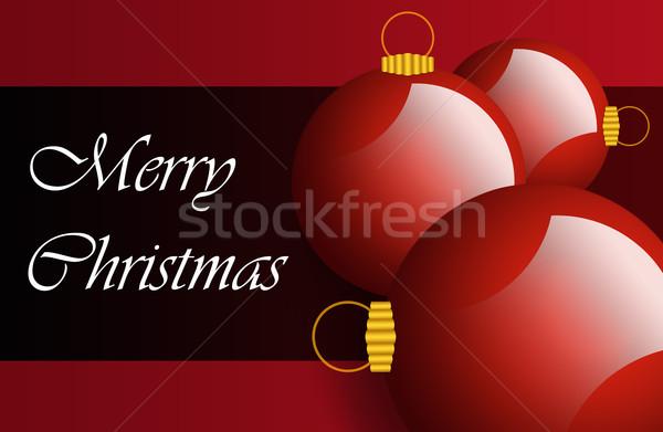 Noël vacances détails illustré magnifique couleurs Photo stock © zurijeta