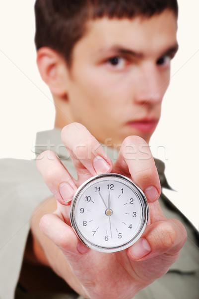 Time's up! Stock photo © zurijeta
