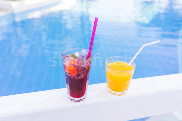 Drink beverage summer refreshment Stock photo © zurijeta
