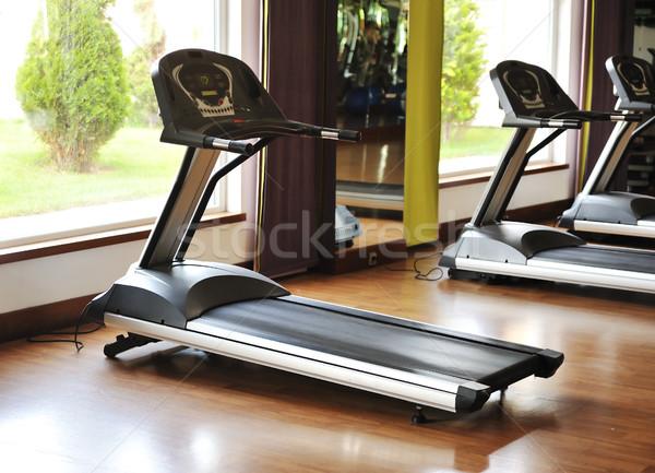 Kész fitnessz épület gyógyszer klub hotel Stock fotó © zurijeta