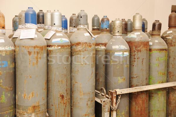 gas bottles Stock photo © zurijeta