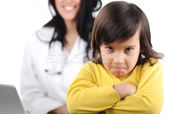 молодые женщины врач мало Cute Сток-фото © zurijeta