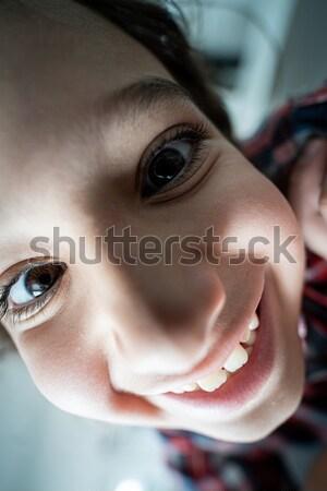 чувственный восточных азиатских арабский женщину шарф Сток-фото © zurijeta