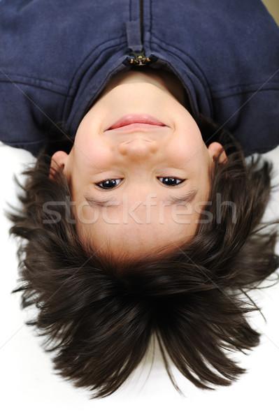 Very positive and cute kid Stock photo © zurijeta