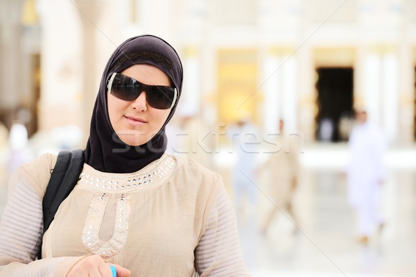 Müslüman Arapça açık havada cami Stok fotoğraf © zurijeta