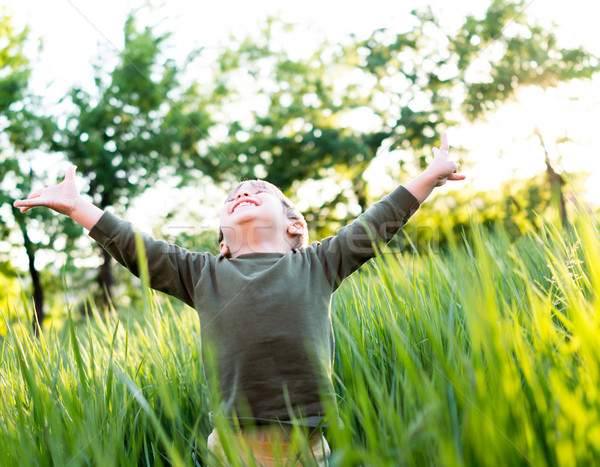 Happy life Stock photo © zurijeta