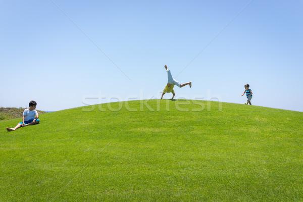 The best summer holiday family vacation Stock photo © zurijeta