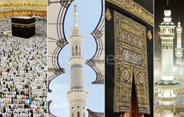 Mecca gruppo culto pregare idea Foto d'archivio © zurijeta