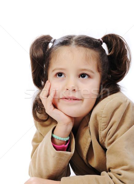 Happiness, beautiful childhood Stock photo © zurijeta