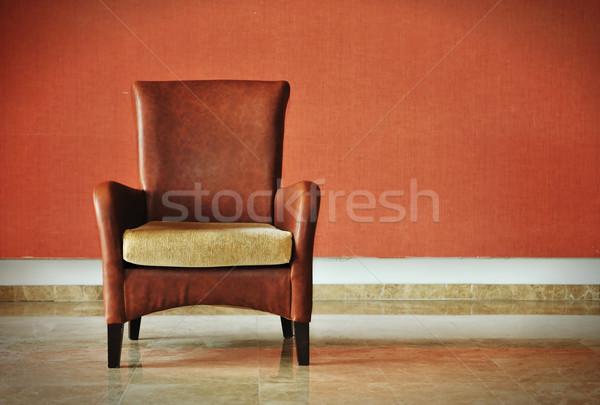 Chair Stock photo © zurijeta