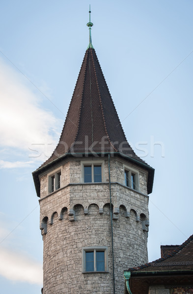 Switzerland castle Stock photo © zurijeta