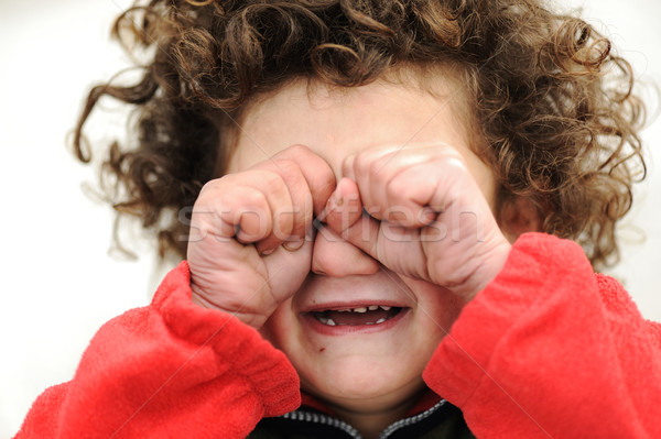 Child crying Stock photo © zurijeta