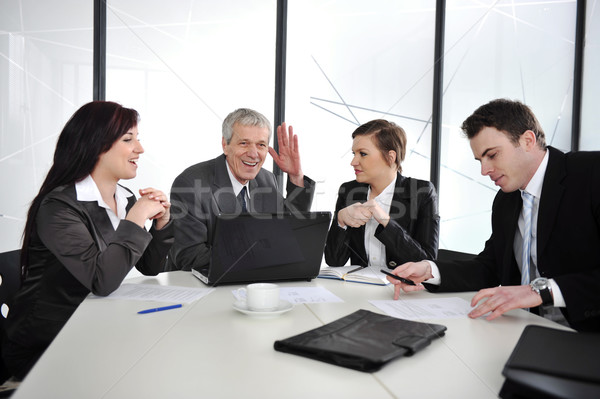 Business people discussion at meeting room Stock photo © zurijeta