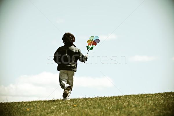 子供 幼年 子供 ストックフォト © zurijeta