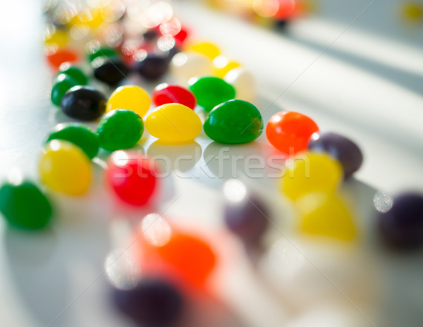 Colorful candy closeup Stock photo © zurijeta