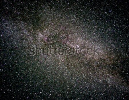 A night sky full of star and visible milky way Stock photo © zurijeta