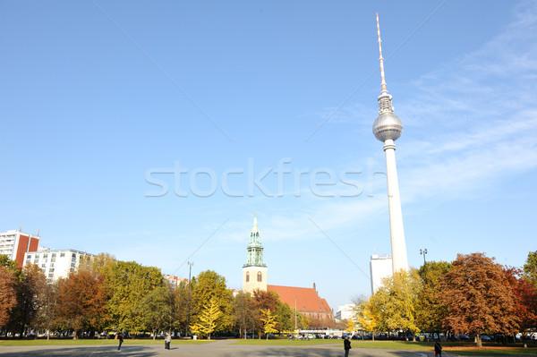 Berlin tower Stock photo © zurijeta
