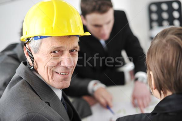 Documents idées réunion personnes Photo stock © zurijeta