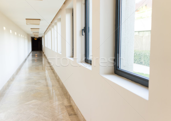 Corridor in a modern building Stock photo © zurijeta