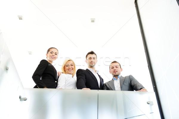 Sikeres üzletemberek korlát üzlet iroda nők Stock fotó © zurijeta
