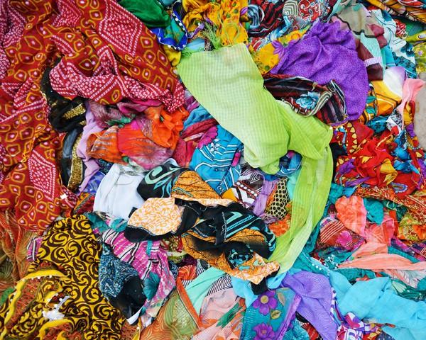 текстильной ткань текстуры флаг цвета ковер Сток-фото © zurijeta