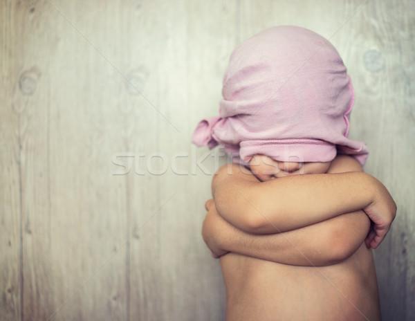 счастливым мало ребенка Kid играет сокрытие Сток-фото © zurijeta