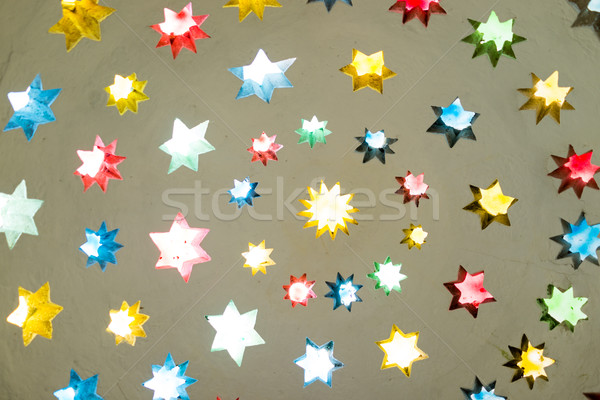 Stars decoration on ceiling Stock photo © zurijeta