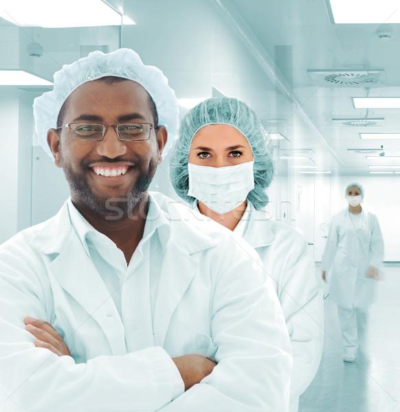科学者 アラビア語 チーム 現代 病院 ラボ ストックフォト © zurijeta