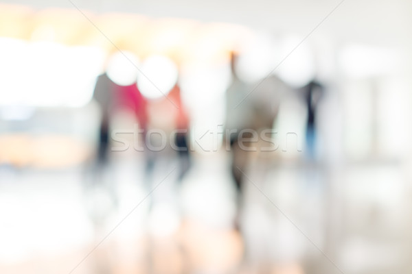 Abstract defocused image of business people Stock photo © zurijeta