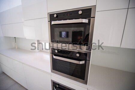 Modern kitchen with nobody in Stock photo © zurijeta