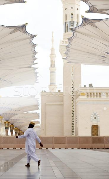 Mecset iszlám szent hely magas döntés Stock fotó © zurijeta