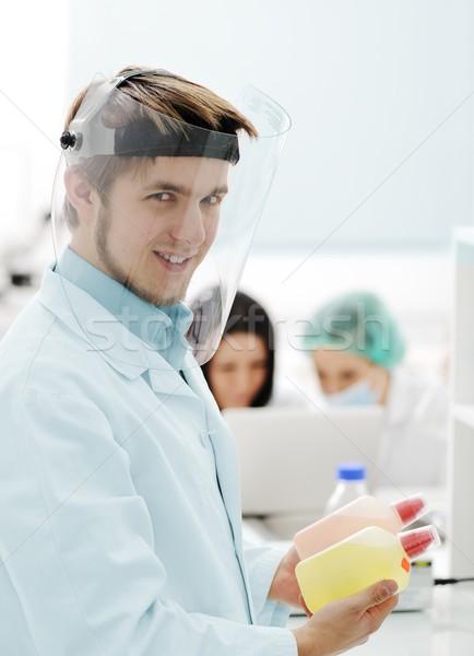 小さな 科学 労働 研究 医療 ラボ ストックフォト © zurijeta