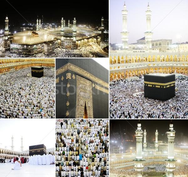 Mecca gruppo culto pregare lettere Foto d'archivio © zurijeta
