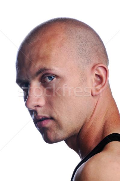 Portrait of a young man Stock photo © zurijeta