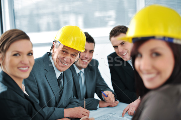 Business people in conference room talking about future plans Stock photo © zurijeta