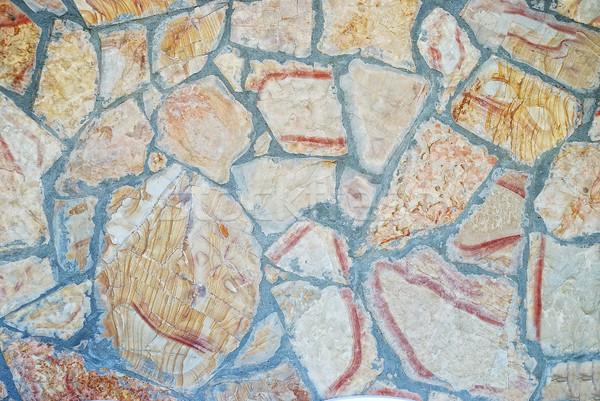 интересный каменные шаблон форма стены ретро Сток-фото © zurijeta